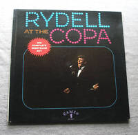 Bobby Rydell 1961 Cameo Mono  33 RPM LP Bobby Rydell At The Copa cLEAn NM