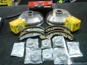 VAUXHALL CORSA B NOVA TIGRA REAR BRAKE DRUM BRAKE SHOES WHEEL BEARINGS