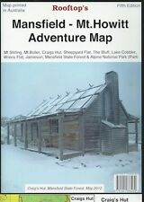 Rooftop Mansfield - Mt Howitt Adventure Map *FREE SHIPPING - NEW*