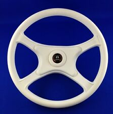 Genuine Teleflex Seastar White Volante Marine Boat Steering Wheel - New A599