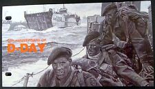 ISLE OF MAN WORLD WAR II STAMPS PRESENTATION PACK 60TH ANNIVERSARY D-DAY WWII