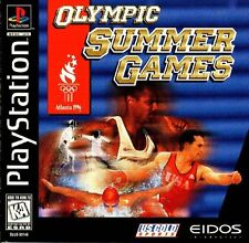 Olympic Summer Games Atlanta '96 PS1 Great Condition Complete Fast Shipping