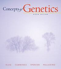 Concepts of Genetics (9th Edition) by Palladino, Michael A., Spencer, Charlotte