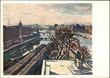 1932 Russland Künstlerkarte Kunst Art Postcard Künstler Marke Alber Paris Louvre