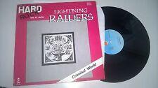 "LP METAL Lightning raiders-Criminal world 12"" (2) chanson Island rec"