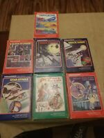 Intellivision - lot 7 Games - most are COMPLETE w/ Overlays, Manuals, and Boxes