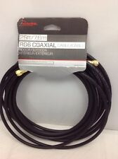 Rocketfish 7.62 (25 ft.) RG6 Coaxial Cable (RF-RG625BK-C)