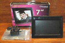 """*FOR PARTS* Aluratek 7"""" Inch Screen LCD Digital Photo Frame (ADPF07SF) *READ*"""