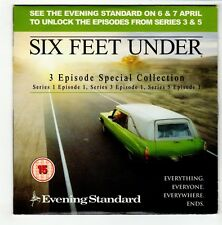 (GO567) Six Feet Under, 3 Episode Special Collection - 2006 Evening Standard DVD
