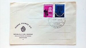 URUGUAY - FDC - 1960 - Direccion general de Correos - Unused