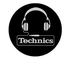 Magma Technics Headphone Slipmat Vinyl DJ Turntable Accessory (Pack of 2)