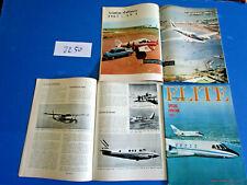 N°2250 : Revue Elite n°12 mai 1967 ; N° spécial aviation / RIKA ZARAI ....