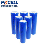 6 18650 Li-ion Rechargeable Mod Battery 2600mAh 3.7V For Flashlight Torch PKCELL