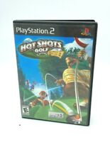 Hot Shots Golf Fore Sony PlayStation 2 PS2 2004 Video Game Very Good Condition