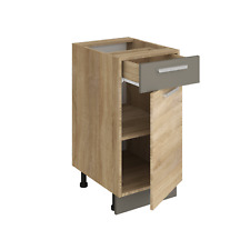 Küchenschrank ALINA 40 cm Unterschrank Küche Einbauküche Sonoma Eiche NEU
