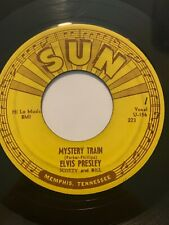 "Original Rockabilly 45/ Elvis Presley ""Mystery Train"" SUN 223  NM/VG++ BEAUTY"