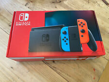Nintendo Switch Console - Improved battery - Neon Controllers  - BRAND NEW