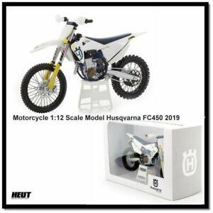 Husqvarna FC450 2019 - 1:12 Scale Modell Motocross Motorrad