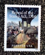 2016USA #5064 Forever - Repeal of the Stamp Act -  Mint NH
