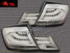 Fit For 13-15 Honda Civic 4dr Sedan 4 PCS L.E.D Tail lights Chrome