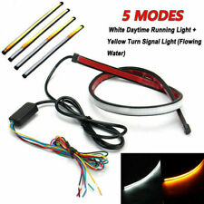 Sequential LED Strip Turn DRL Daytime Running Light Signal Switchback Indicator*