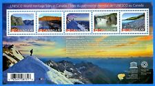 2014 Canada #2718 UNESCO World Heritage Sites Souvenir Stamp Sheet Mint-NH