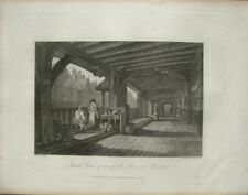 Inside View of one of the Rows at Chester (published Jan.24,1810)