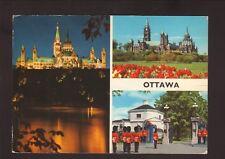 Views of Ottawa, Ontario--1980 Postcard--Mailed to the U.S.