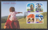 CANADA #2398-2401 ROADSIDE ATTRACTIONS FIRST DAY COVER