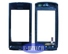 Digitizer Touch Screen Glass for Nokia Asha 500 N500 Black with Frame + Tools