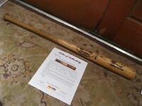 Dave Hostetler Game Used Louisville Slugger Baseball Bat PSA Certified