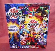 NEW SEALED BAKUGAN BATTLE BRAWLERS POSTER SIZE PUZZLE & WALL POSTER 300 PIECES