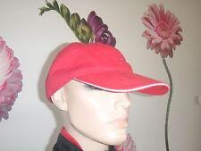 wie Neu Tommy Hilfiger Cap Mütze one Size Rot