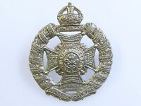 THE RIFLE BRIGADE REGIMENT GENUINE CLASSIC REGIMENTAL CAP BADGE