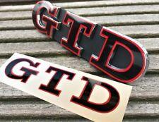 Polo Golf 4 5 6 7 V VI VII GTD Edition 35 Sticker Emblem Schriftzug Aufkleber