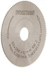 Proxxon 28020 HSS Kreissägeblatt aus hochlegiertem Spezialstahl Ø50mm, fein geza