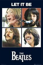 VintageThe Beatles Let It Be Poster approx 24 x 36