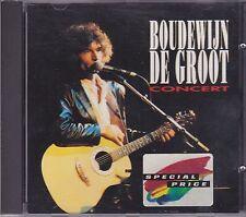Boudewijn De Groot-Concert  cd album