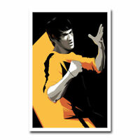 Bruce Lee Motivational Quote Art Silk Poster 13x20 24x36inch DO/'T FEAR FAILURE
