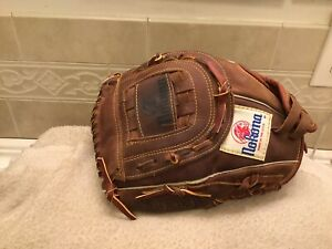 "Nokona AMG-600X-CW 12.5"" Buckskin Baseball Softball Glove Left Hand Throw"
