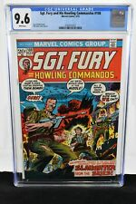 Sgt. Fury, and His Howling Commandos #108 1973 CGC Graded 9.6 Dick Ayers Marvel