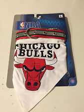 New NBA Pet Collar Bandana CHICAGO BULLS Size Large