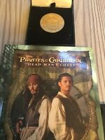 Disneyland coin from Pirates Of The Caribbean 2019 Collectable Plus Free Book