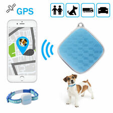 Mini GPS Tracker Pet Collar Real Time Locator Kid Dog SIM Tracking Device PS115