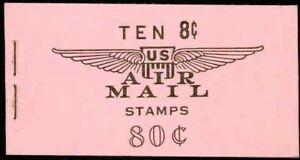 USA -1964 – 8¢ AIMAIL CPL. BK W/SCARCE SLOGAN 3 – VF**