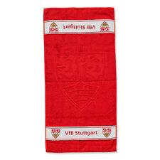 VfB Stuttgart Handtuch Wappen 14007 rot mit geprägtem Wappen Fanartikel