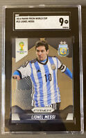 2014 Panini Prizm World Cup #12 Lionel Messi SGC 9 Mint