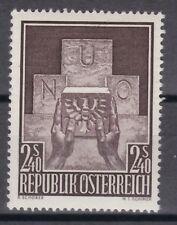 Österreich 1956 postf. MiNr. 1025 Aufnahme Österreichs in die Vereinten Nationen