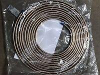 "Roll 25ft Long 3/16"" Kunifer Cunifer Copper/nickel Quality Car Brake Pipe Tubing"