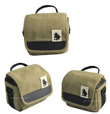 Canvas Shoulder Waist HD DV Camcorder Case Bag For VIVITAR DVR908 DVR2121